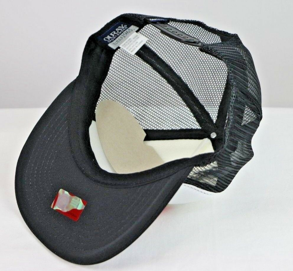 Army Black Knights NCAA White/Black Foam Front Mesh Back Trucker Cap Hat OS - fazoom