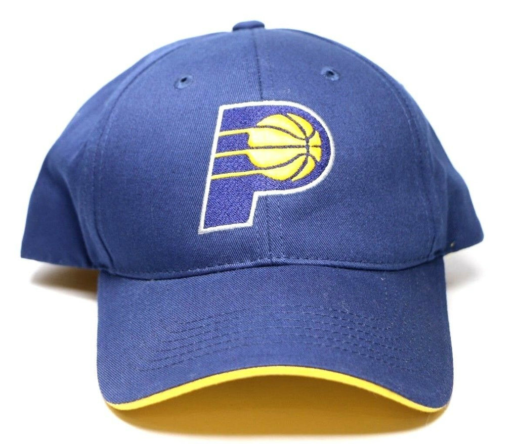 Indiana Pacers NBA Lucas Oil Promo Adjustable Navy Baseball Cap Hat OS OSFA - Fazoom