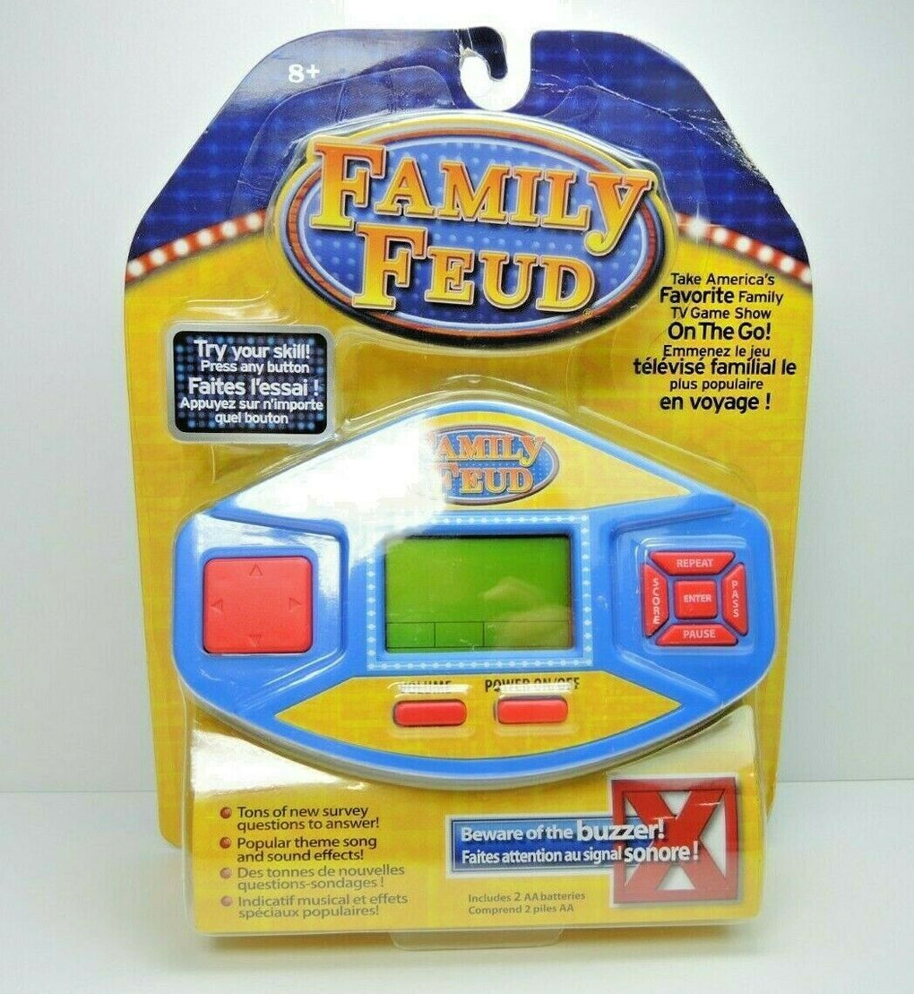 Family Feud Handheld Game Travel Game New Sealed, 2016 Fued Hand Held Video Game - Fazoom