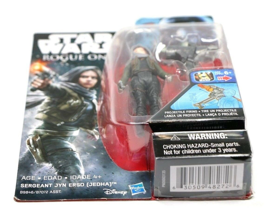 Hasbro STAR WARS Rogue One Sergeant Jyn Erso (Jedha) 3.75