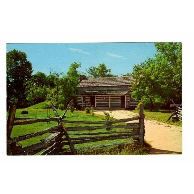 Rutledge Tavern Lincoln's New Salem State Park Illinois Postcard 5DK-89 - Fazoom