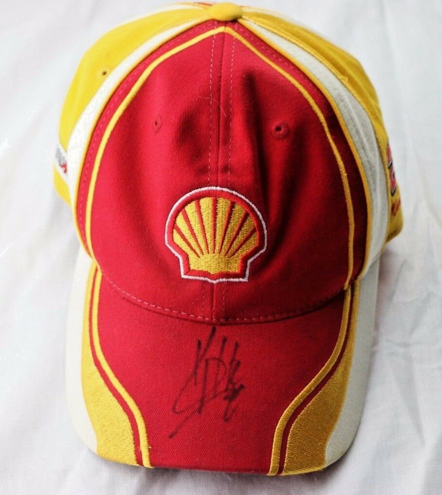 Kevin Harvick Autographed 29 Nascar Racing Shell Pennzoil Cap Hat Adjustable - Fazoom