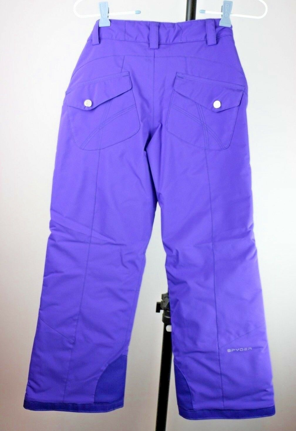 Spyder Girl's Vixen Tailored Snowboard Insulated Snow Ski Pixie Pants Kids 10 M - fazoom
