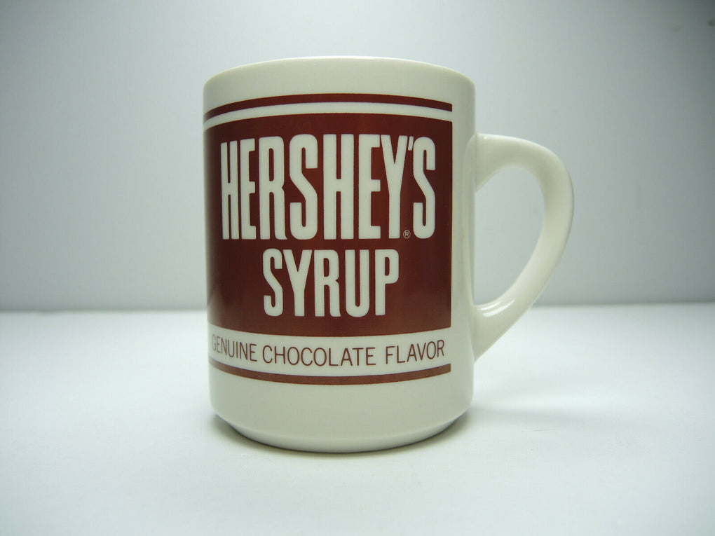 Hershey's Syrup Vintage Coffee Mug Tea Cup Advertising - fazoom