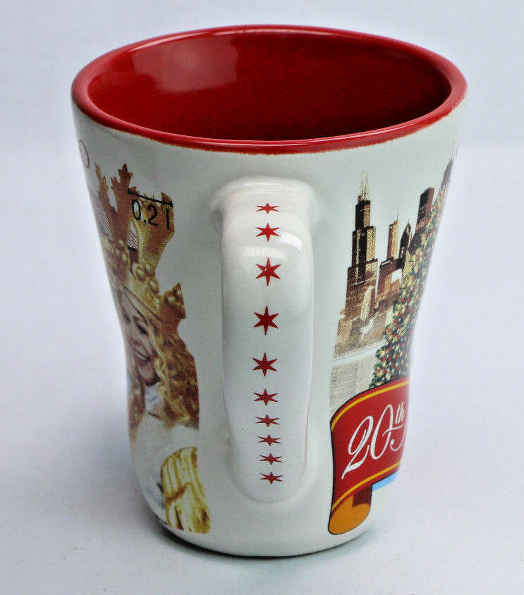 2015 Christkindlmarket Chicago 20th Anniversary Christmas German Market Boot Mug - Fazoom