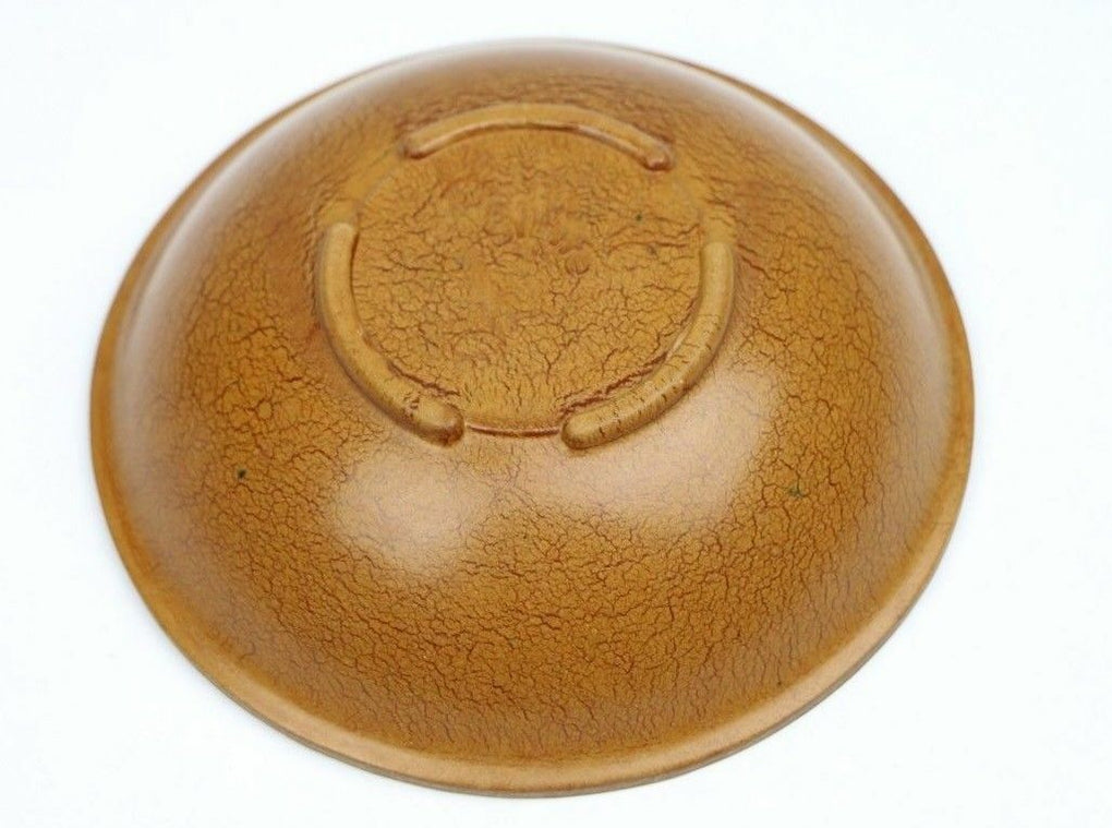 SiLite Melmac Brown Wood Grain Look Plastic Melamine Bowl 500 Vintage Chicago - Fazoom