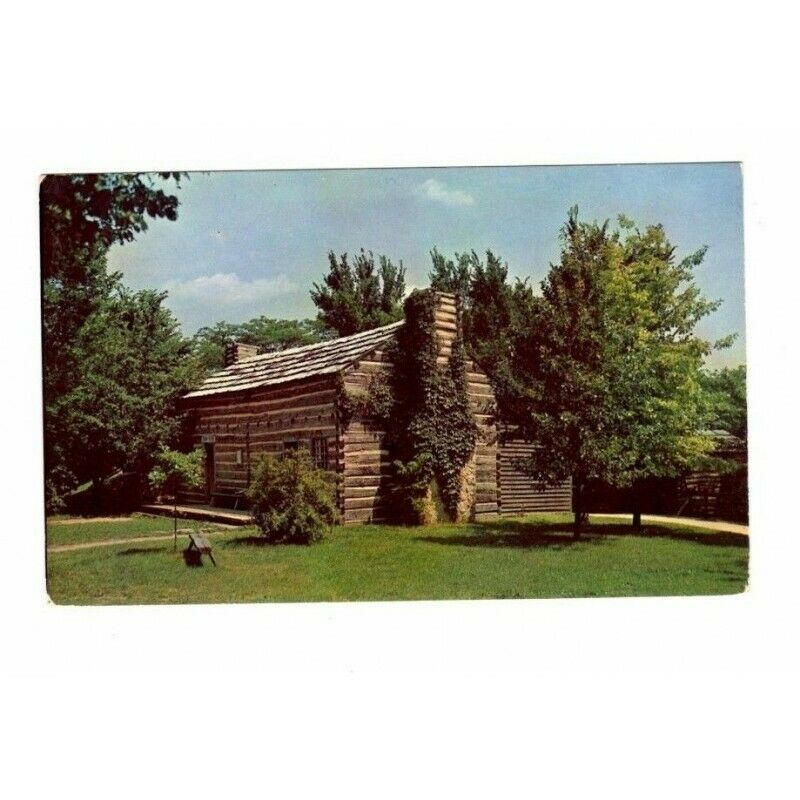 Rutledge Tavern New Salem State Park Illinois Postcard Herbert Georg P5726 - fazoom
