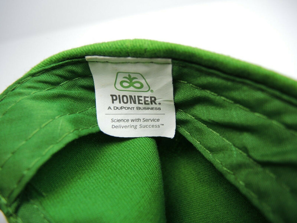 Pioneer Seeds Green Farming Adjustable Baseball Hat Cap Strapback DuPont - Fazoom