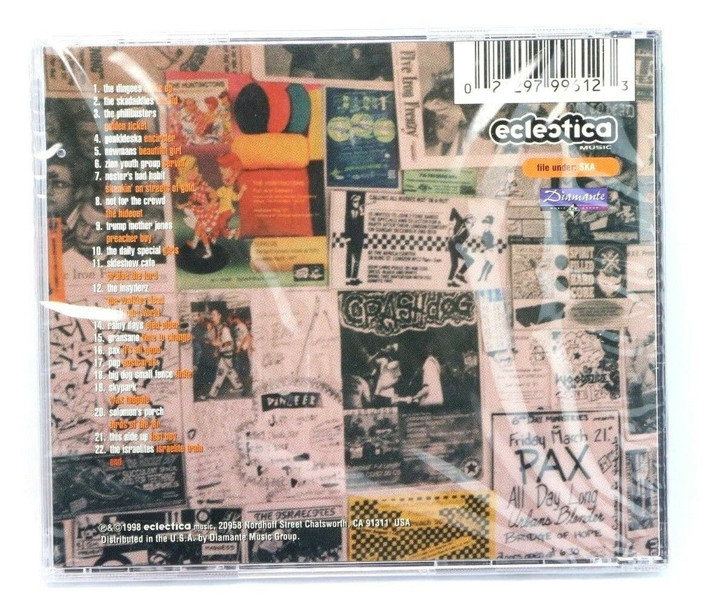 Skanktified CD ~ Various Artists ~ Christian Ska 1998 ~ Eclectica ~ Brand New - Fazoom