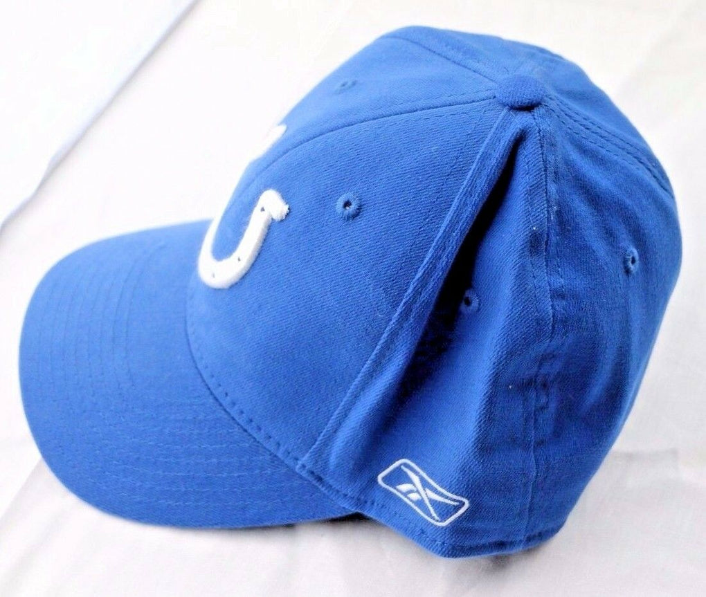 Indianapolis Colts NFL Reebok Select Baseball Hat Cap Fitted One Size - fazoom