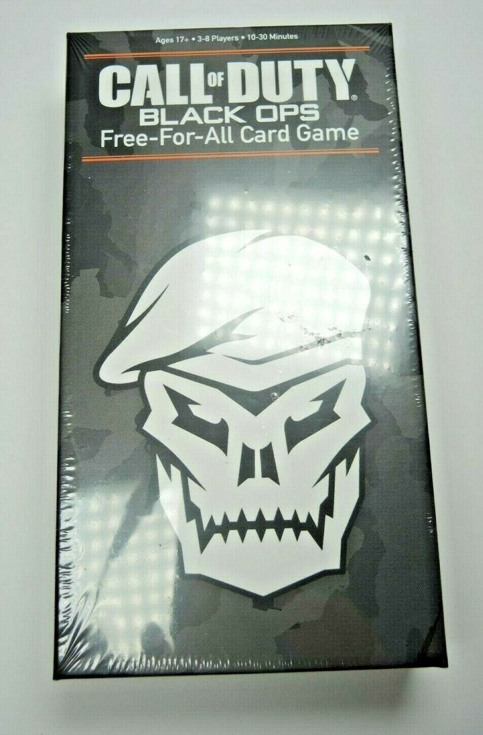 Call of Duty Black Ops Free for All Card Game Mission USAopoly Activision Gear - Fazoom