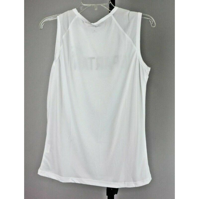 Michigan State Spartans Camp David Breeze Womens Sleeveless Mesh T-Shirt, Medium - fazoom