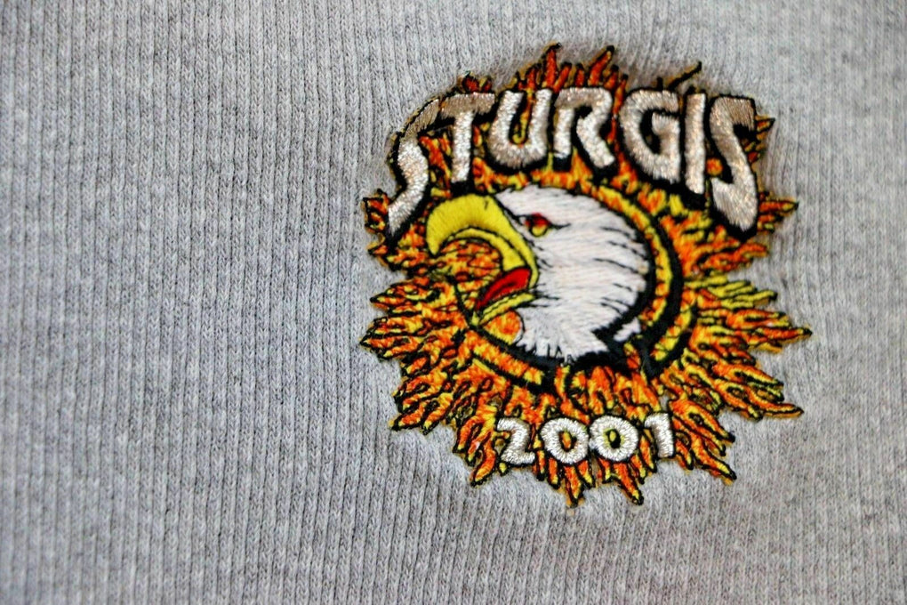 2001 Sturgis American by Birth Biker by Choice Tank Top Muscle Shirt SIZE XL - Fazoom