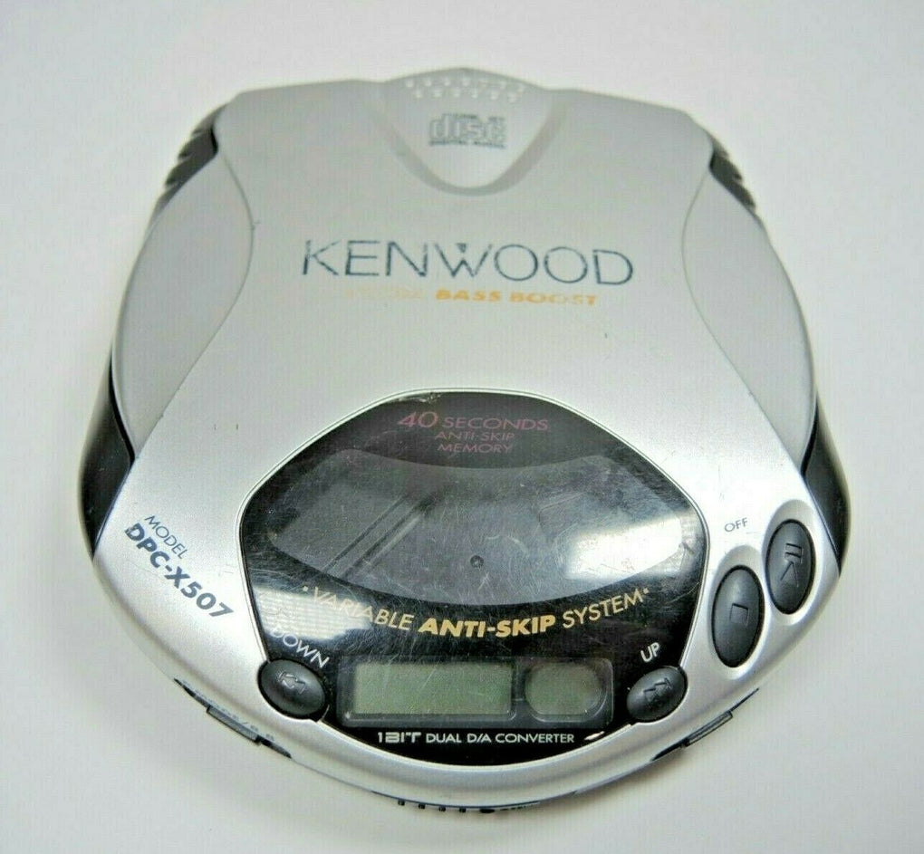 Kenwood Portable CD Player DPC-X507 Anti-Skip Tested and Working - fazoom