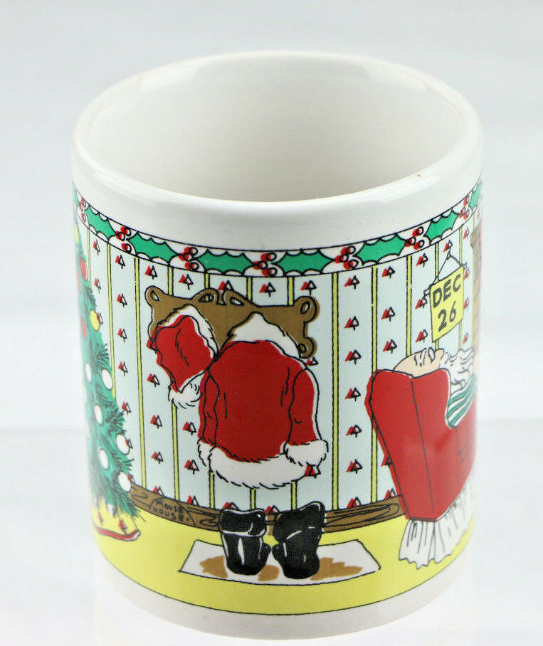 Santa Claus December 26th Christmas Coffee Mug Cup - Fazoom