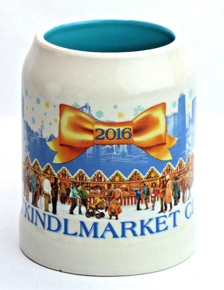 2016 Christkindlmarket Chicago Christmas German Market Mug Ceramic Cup - Fazoom