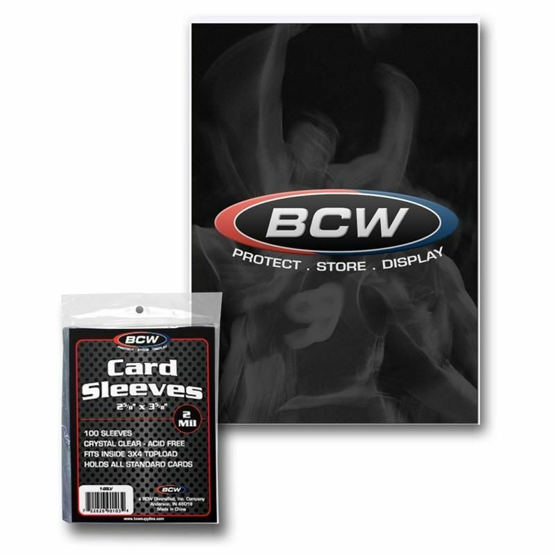 100 (1 pack) BCW Card