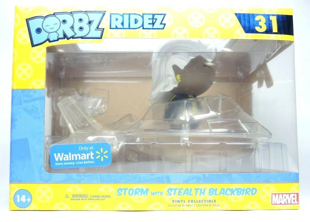 Funko Dorbz Storm Stealth Blackbird Invisible Jet X-Men Walmart Exclusive Marvel - Fazoom