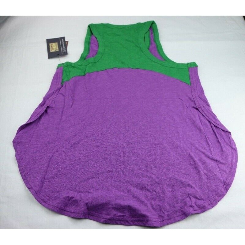 New Orleans Jazz Women's Throwback Color Block Tank Top (Purple), Size Small - fazoom
