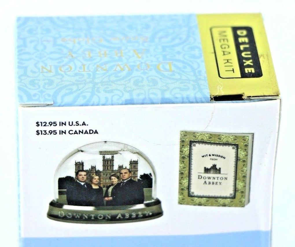 Downton Abbey Manor House Mini Snow Globe & Book - Fazoom