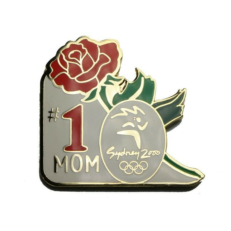 2000 Sydney Summer Olympics #1 Mom Lapel Pin - fazoom