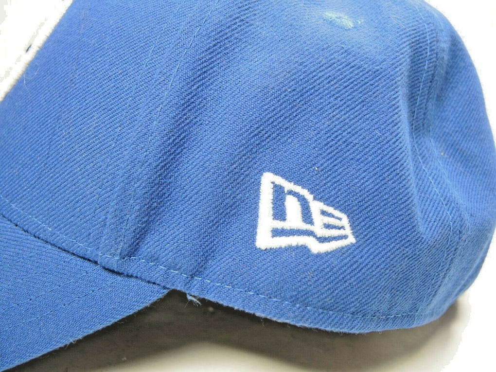 Indianapolis Colts New Era 9Forty Blue Strapback NFL Adjustable Baseball Hat Cap - Fazoom