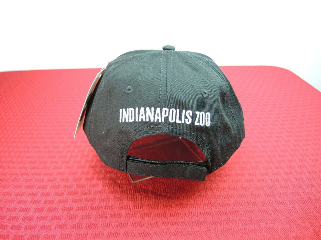 Indianapolis Zoo Tiger Adjustable Strapback Hat Cap - fazoom