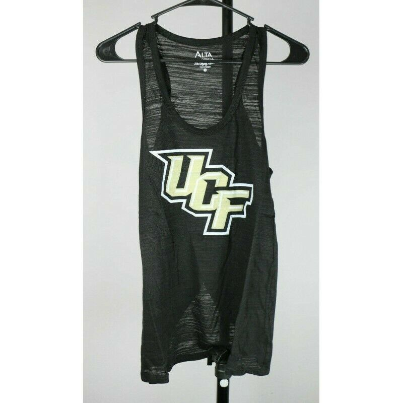 Central Florida Golden Knights NCAA Women's Splitback Tank Top, Black, Large - Fazoom