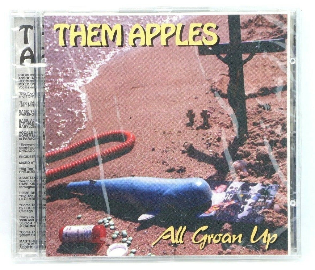 Them Apples ~ All Groan Up ~ CD ~ Feedback Records ~ 1995 ~ Lou Carlozo - Fazoom