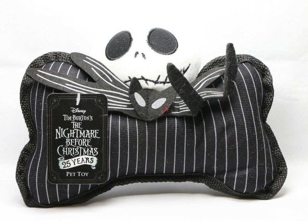 The Nightmare Before Christmas Jack Skellington Dog Pet Toy 2018 Disney - Fazoom