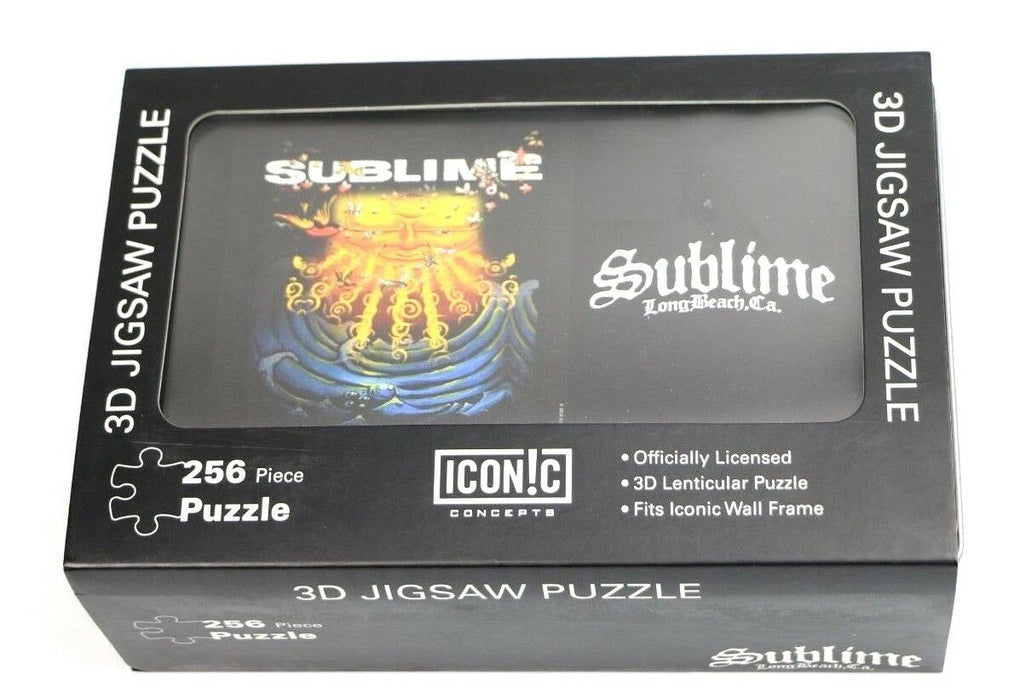 Sublime Everything Under The Sun 3D Lenticular Jigsaw Puzzle Tin Iconic Concept - Fazoom
