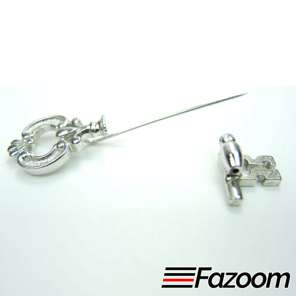Avon Vintage Key Brooch Stick Pin - Fazoom