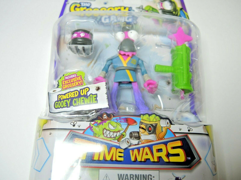 Grossery Grocery Gang Time Wars Powered Up Gooey Chewie Action Figure - Fazoom