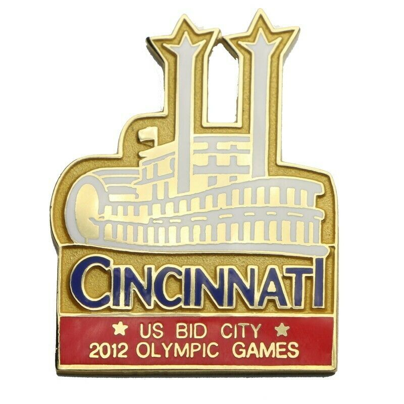 2012 Summer Olympics Cincinnati Steamboat Bid Lapel Pin - Fazoom