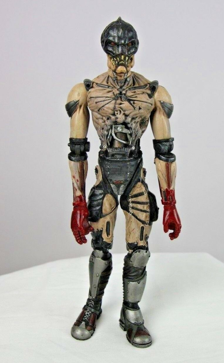 Stan Winston's Mutant Earth Series Movie Red Vane Action Figure 2001 SWC Inc - Fazoom