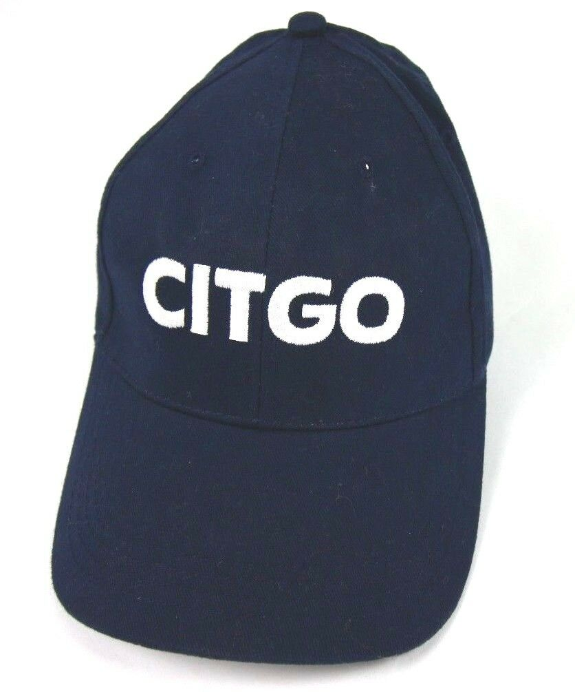 Citgo Gas Oil Baseball Hat Cap Navy Strapback Adjustable Gas Station Style 2 - Fazoom
