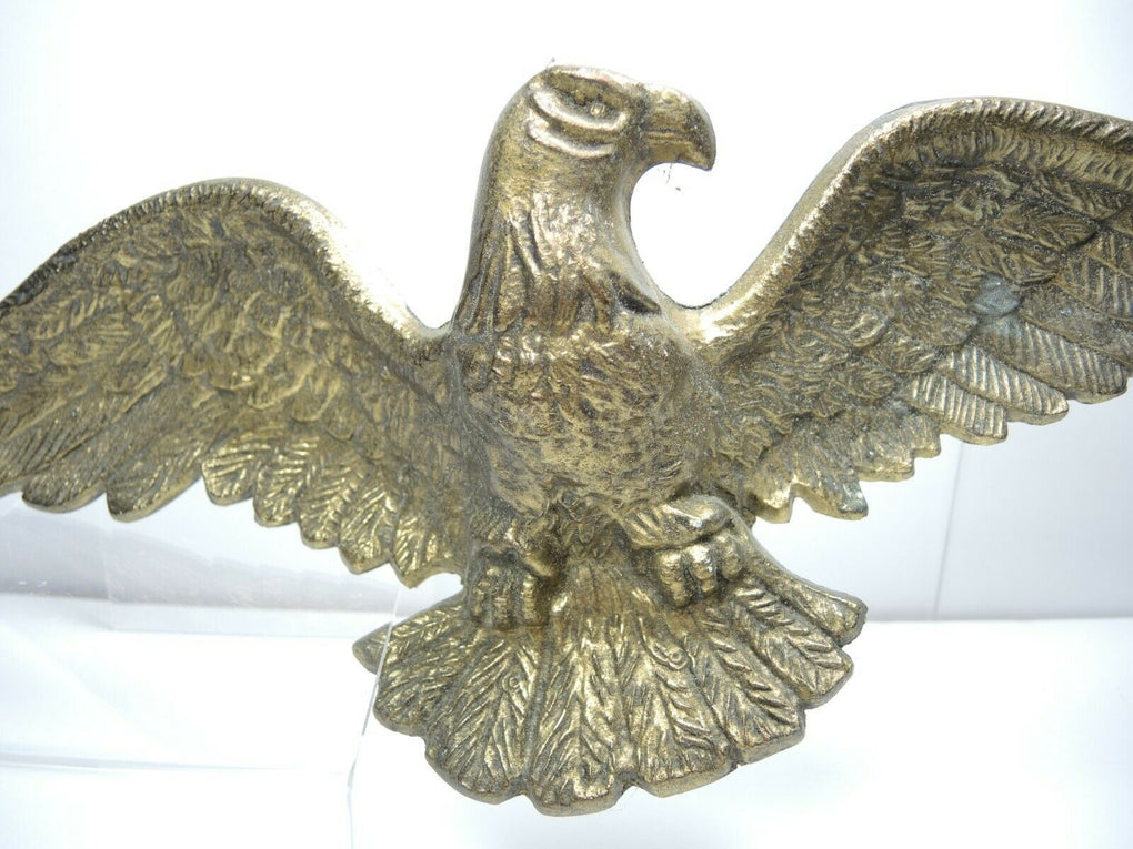 Solid Brass EAGLE Wall Hanging Wall Plaque Decor 19