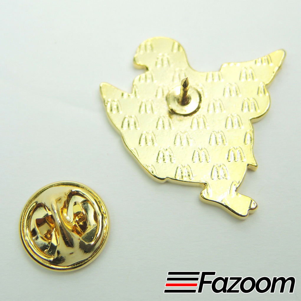 McDonald's Crispy McD Chicken Lapel Pin - Fazoom