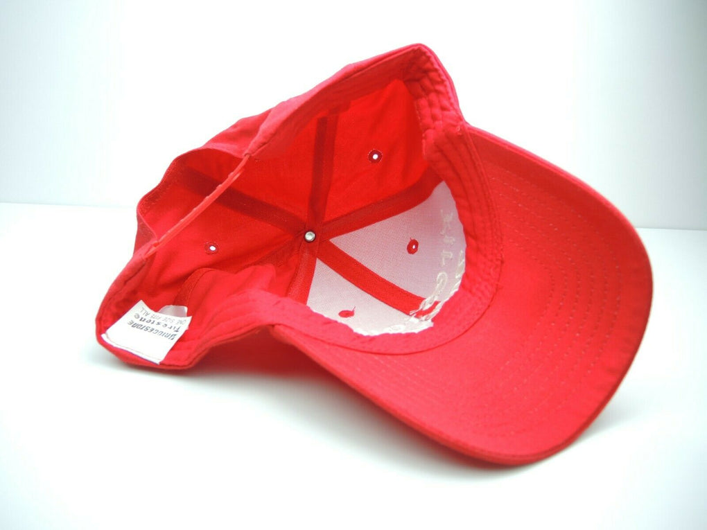 Firestone Racing Red Adjustable Snapback Hat Cap - Fazoom