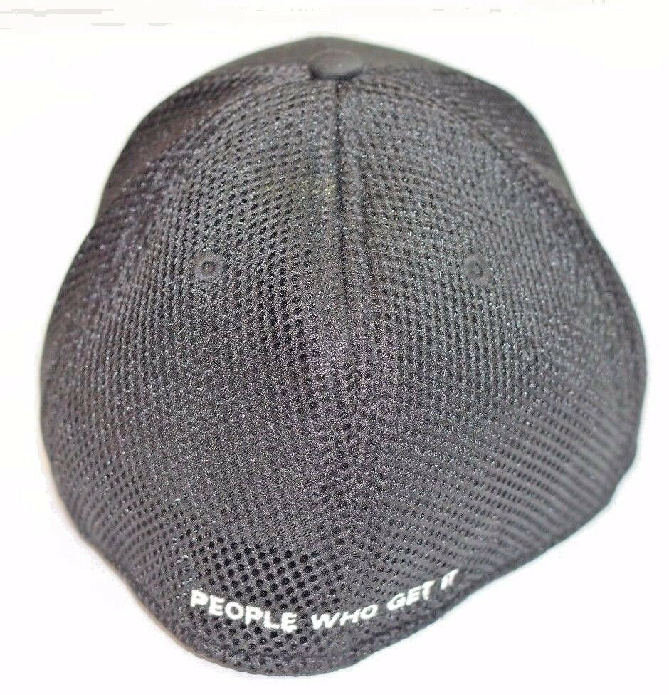 CDW Imperial Black Mesh Perfect Fit Fitted Hat