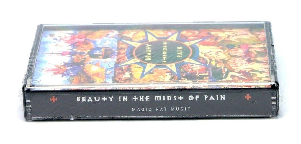 Mark Thomas Hannah Beauty in the Midst of Pain Sealed Cassette Magic Rat Music - fazoom