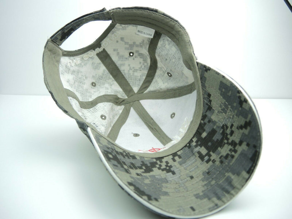 Shoot Point Blank Camo Shooting Range Adjustable Strapback Hat Cap - fazoom
