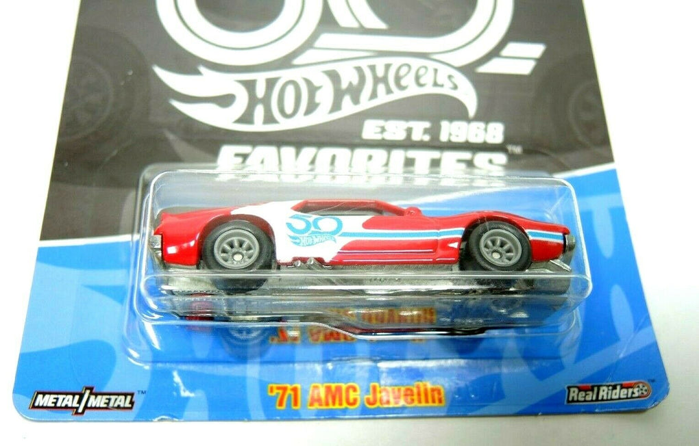 2018 Hot Wheels 50th Anniversary Favorites '71 AMC Javelin - Fazoom