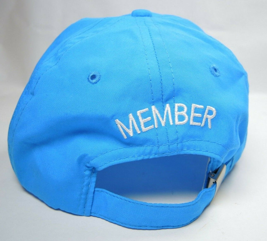Disney Vacation Club Member Blue Adjustable Baseball Hat Cap - Fazoom