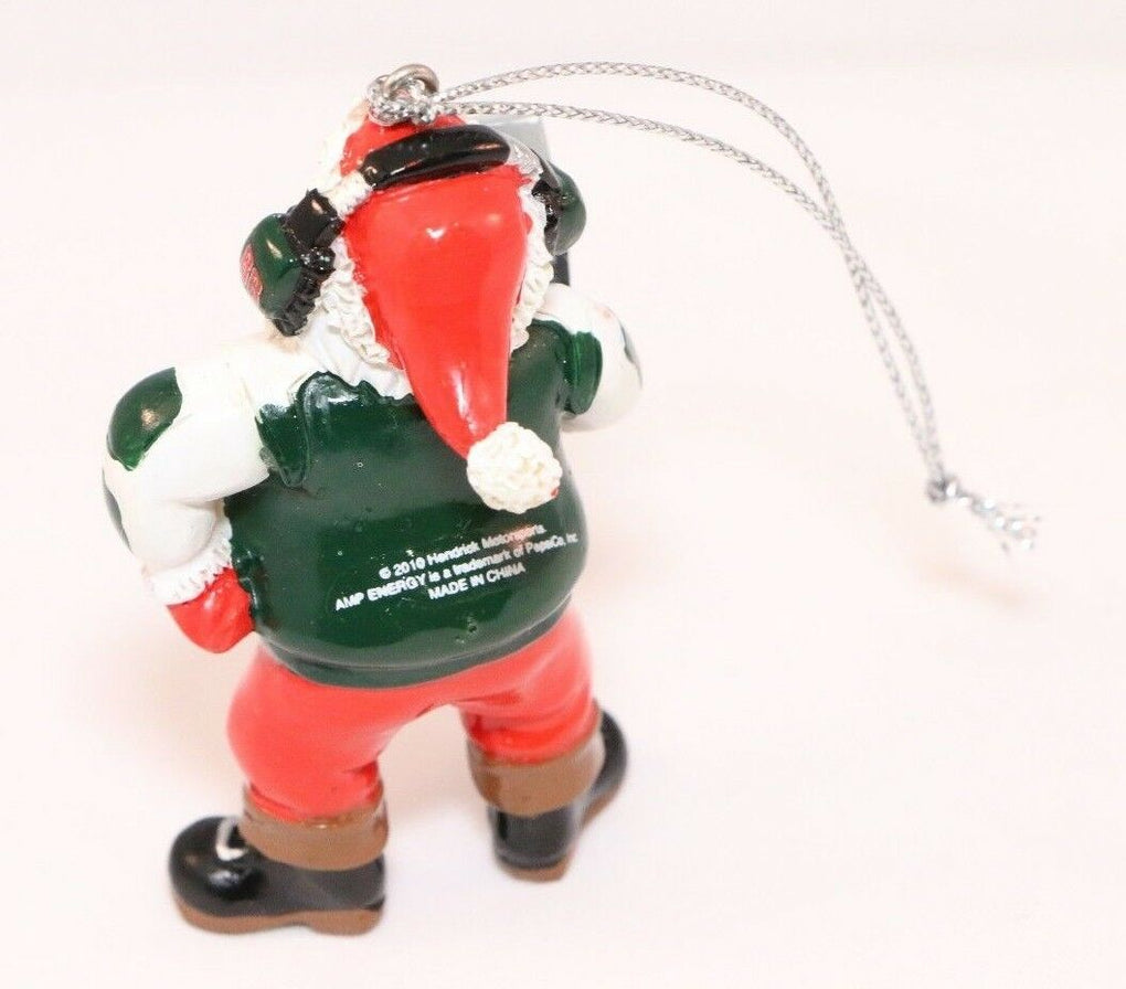 Hendrick Motorsports 2010 Dale Jr Amp Santa Ornament Christmas Decoration - Fazoom