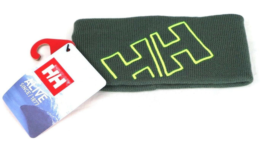 Helly Hansen Boys Outline Headband Warm Acrylic Beanie Hat S 7040054943567 Rock - Fazoom
