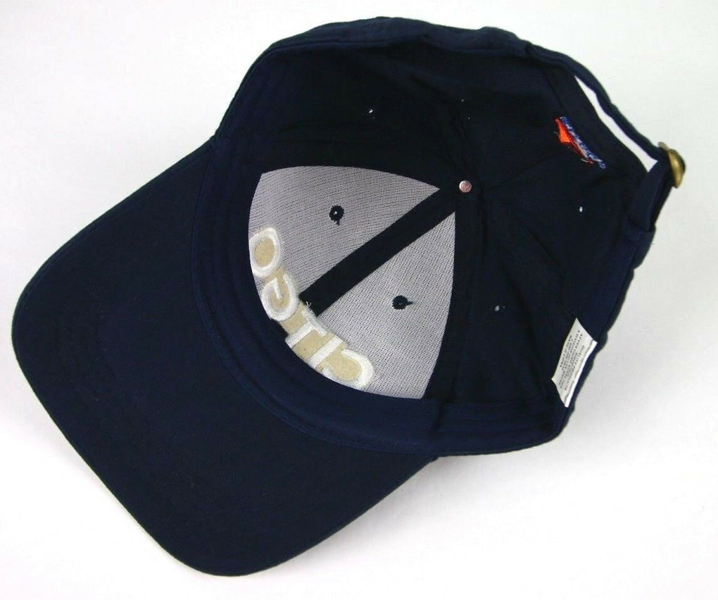 Citgo Gas Oil Baseball Hat Cap Navy Strapback Adjustable Gas Station Style 1 - fazoom