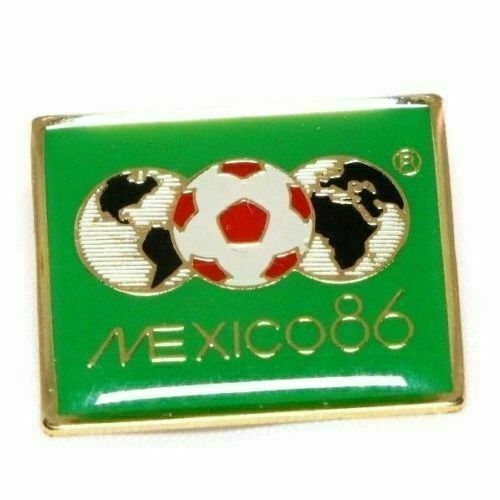 1986 FIFA World Cup Mexico Futbol Soccer Lapel Pin - fazoom