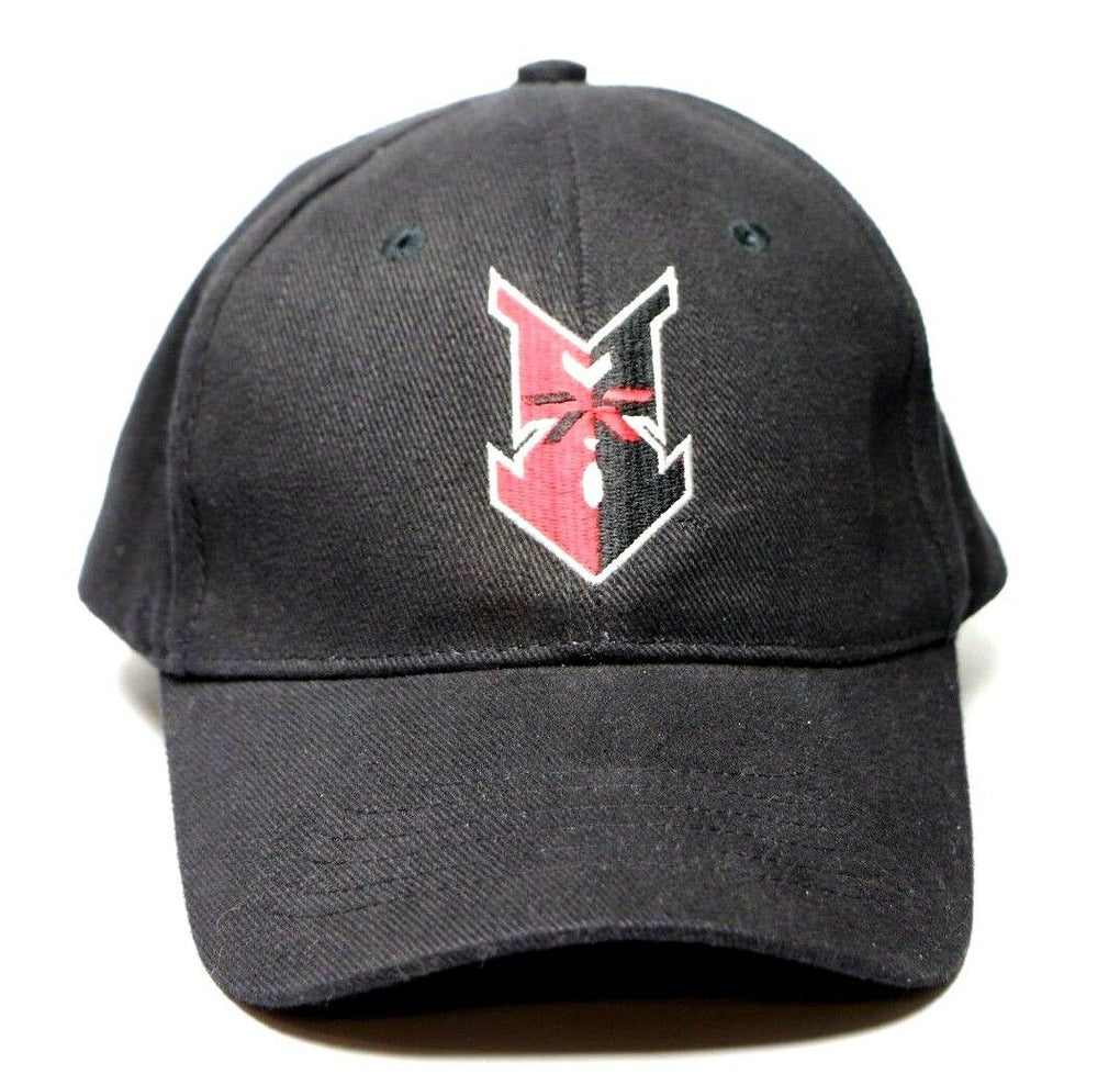 Indianapolis Indians Culver's Minor League Adjustable Black Baseball Cap Hat OS - Fazoom