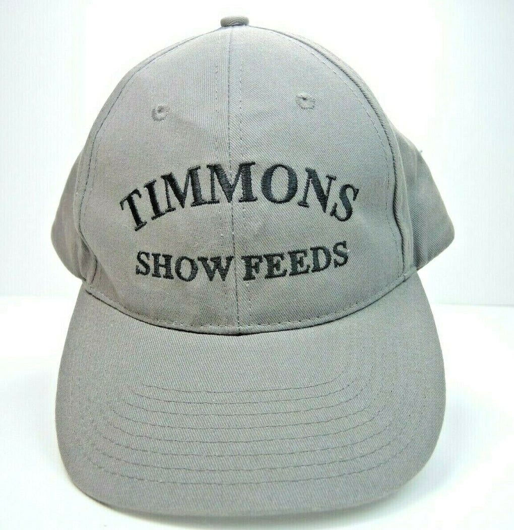 Timmons Show Feeds Farming Adjustable Baseball Hat Cap Strapback KC - Fazoom